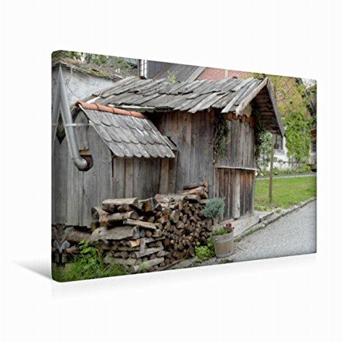 Premium Textil-Leinwand 45 cm x 30 cm quer Immobilie aus Holz | Wandbild, Bild auf Keilrahmen, Fertigbild auf echter Leinwand, Leinwanddruck: Hölzernes (CALVENDO Natur)